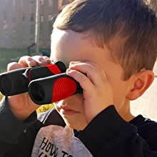 Toy binoculars red children binoculars for boys
