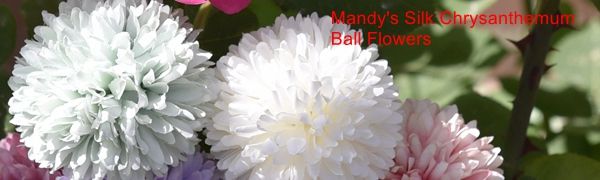 Mandy's Silk flowers