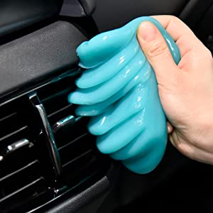 car cleaning gel putty slime kit duster dusting gel tool car cleaner dust remover keyboard cleaner