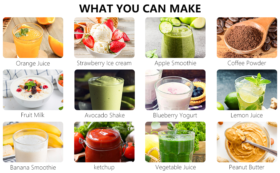 what you can make