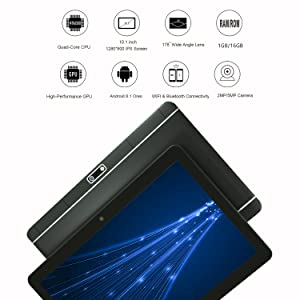android 8.1 tablet operating system