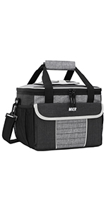 MIER Large Soft Cooler Bag Insulated Lunch Box Bag Picnic Cooler Tote