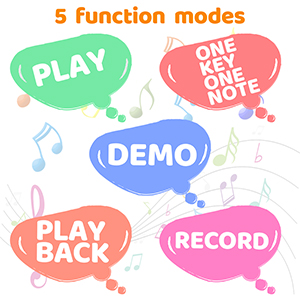 5 Function Modes