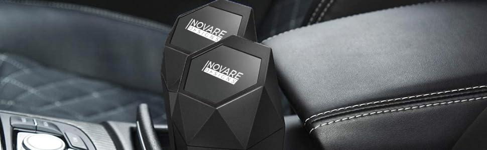 mini car trash can Inovare Designs 2 pack