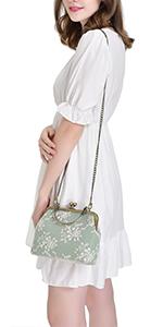 vintage women handbag and purse