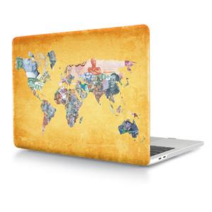 Banknotes Map hard case