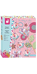 Janod Crafts Origami Delightful Decoration Kit