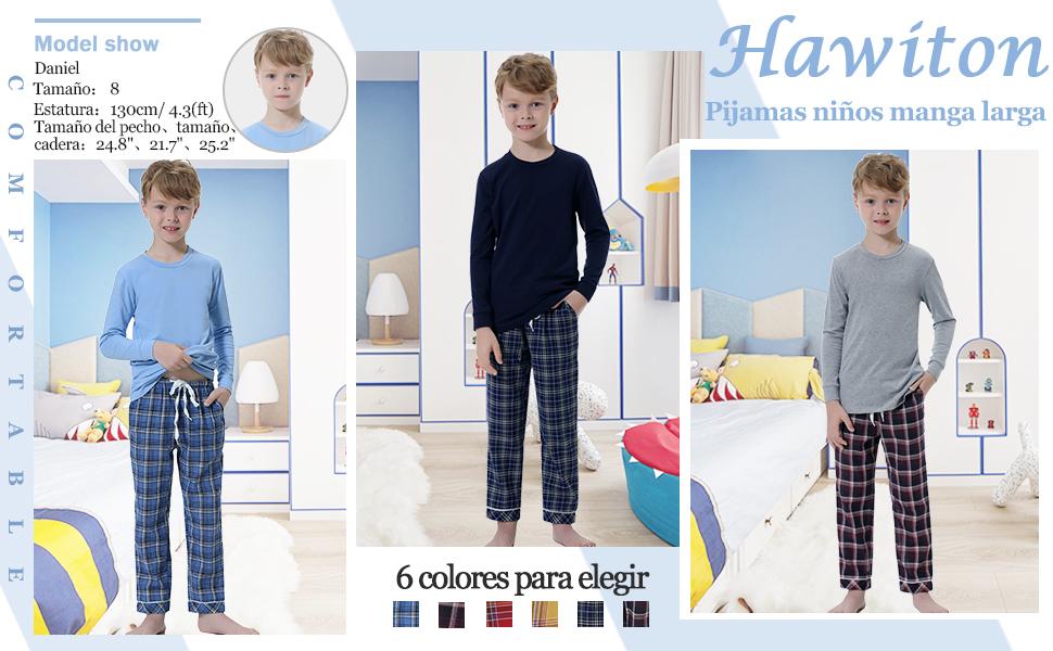 pijama niño invierno