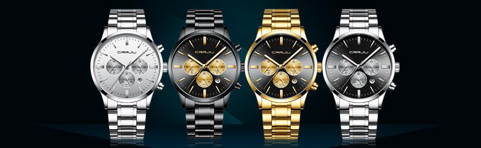 Wristwatch Black