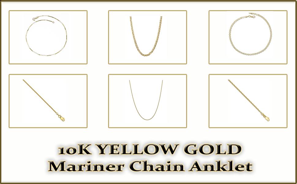 Mariner Chain Anklet