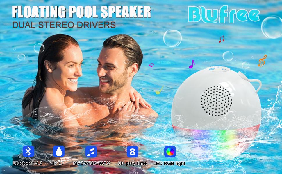 waterproof speaker bluetooth outdoor