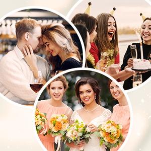 Bridal Wedding Earrings for Brides