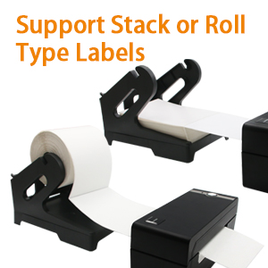 Support Stack or Roll Type Labels
