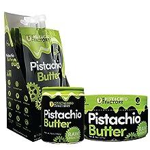 healthy fats protein high fiber pistachio nut butter raw non gmo vegan keto friendly gluten free
