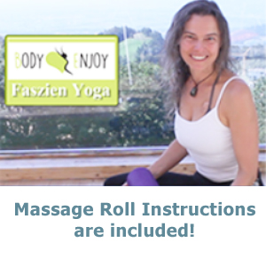 massage fascia roll foam roller yoga arm pain sore muscles neck pain selfmassage roll out pain