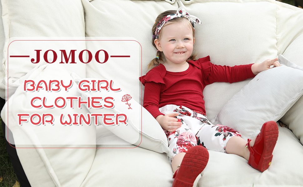 JOMOO BABY GIRL CLOTHES