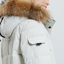 hooded jacket winter coat