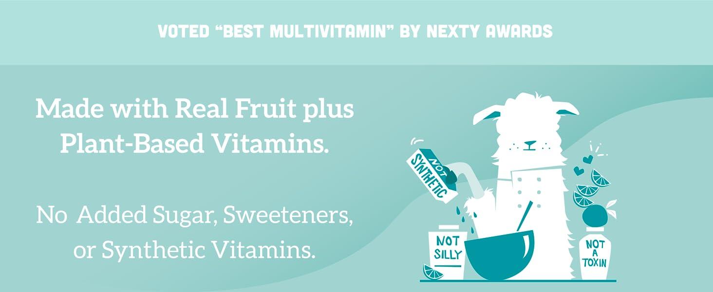 Llama Naturals Vitamins