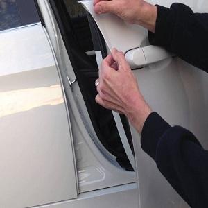 Door Guard Edge Trim Chrome Molding Protector Seal Strip for Ferrari