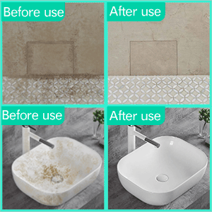 remove hard water stain easily
