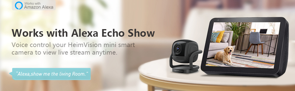 33_Security Camera Indoor_Mate A1_works with alexa