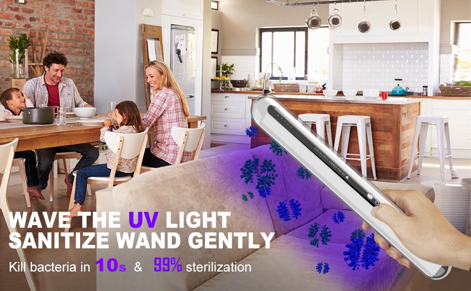UV LIGHT SANITIZE WAND
