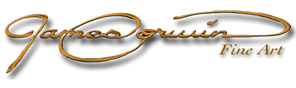 James Corwin Fine Art Markenunternehmen Logo Amazon Banner
