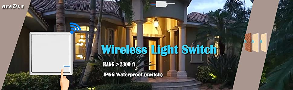 wireless wal switch