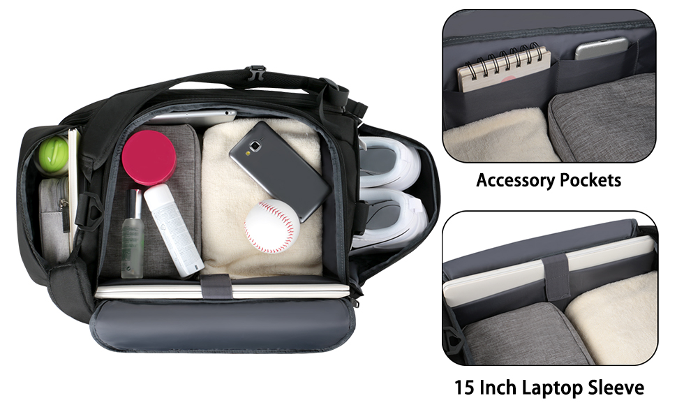 compartment laptop 15.6 inch