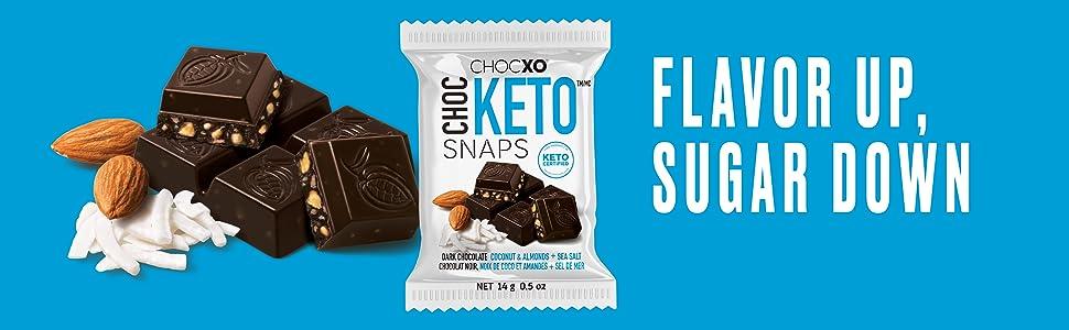 chocxo, keto chocolate, keto snacks, chocketo, lilys, lilys chocolate, choczero, keto, low sugar