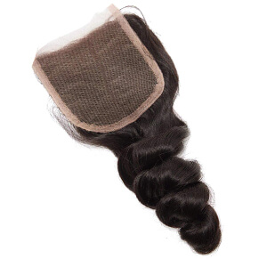 brazilian loose wave hair closure