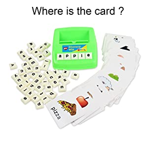 Flash Cards - BOHS Literacy Wiz -Lower Case Sight Words - 60 Flash Cards - Preschool Language Learning Educational Fun Game Toys