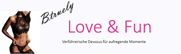 Btruely Sexy Dessous Damen Lace Babydoll Nachtwäsche Lingeries Reizwäsche Clubwear Dessous …