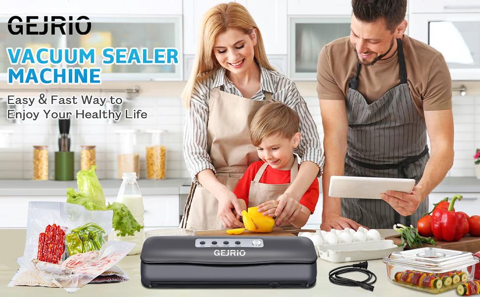 food vacuum sealer in kitchen