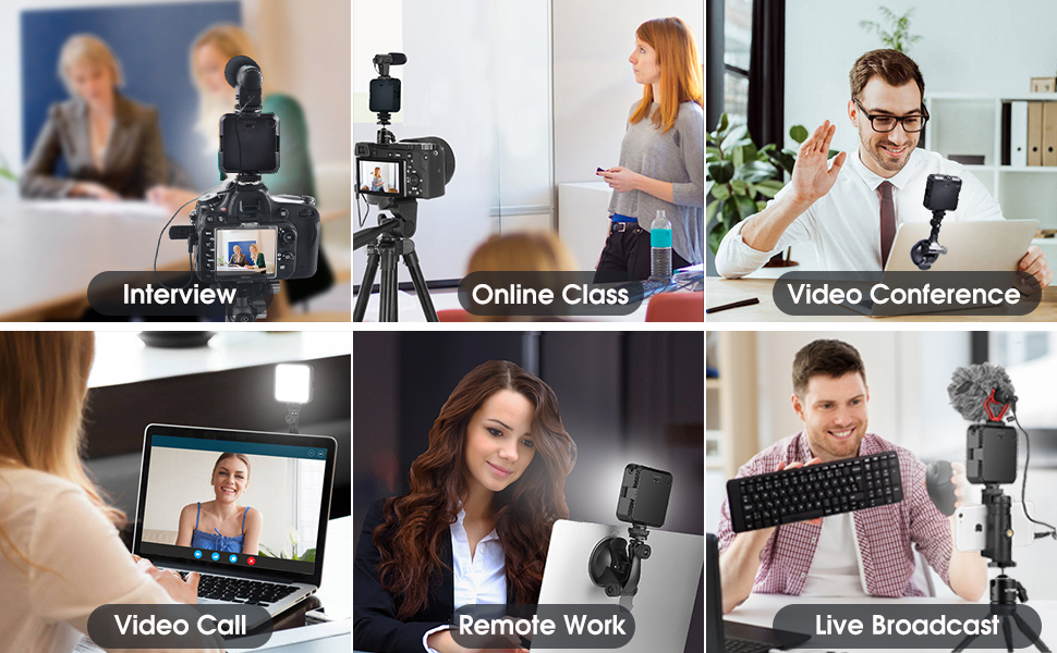light for computer video conferencing