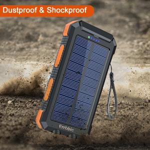 solar portable outdoor External Backup Battery Power Pack