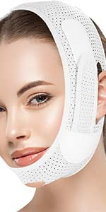 Face Slimming Strap-White