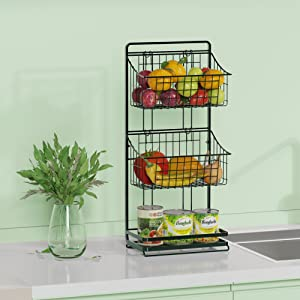 countertop storage rack