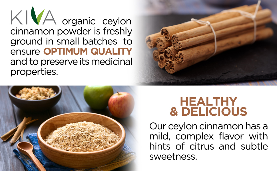 kiva organic cceylon cinnamon