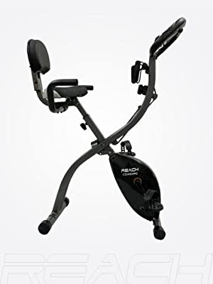 Reach Contempo Foldable Bike Folding Exercise Cycle for Home Use