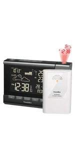 Weather Station Projection Alarm Clock