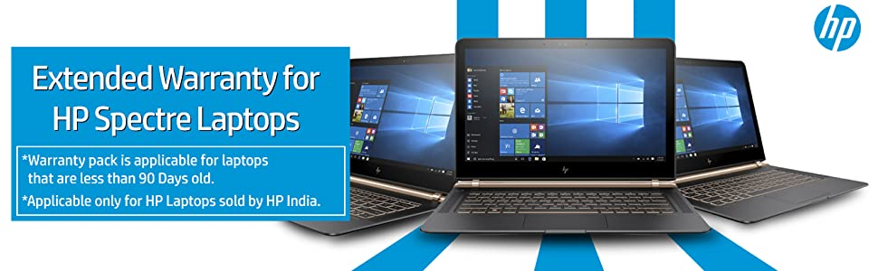1 Year Extended Warranty for HP Spectre Laptops
