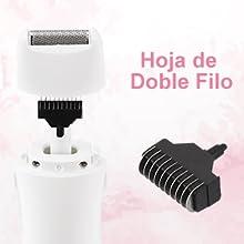 Afeitadora Mujer 4 en 1,PRETTY SEE Depiladora de Cuerpo,Femenina ...