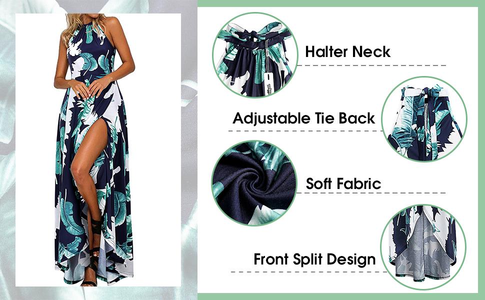 halter dress for women