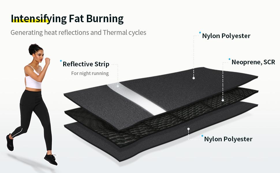 workout slimming pants burning fat