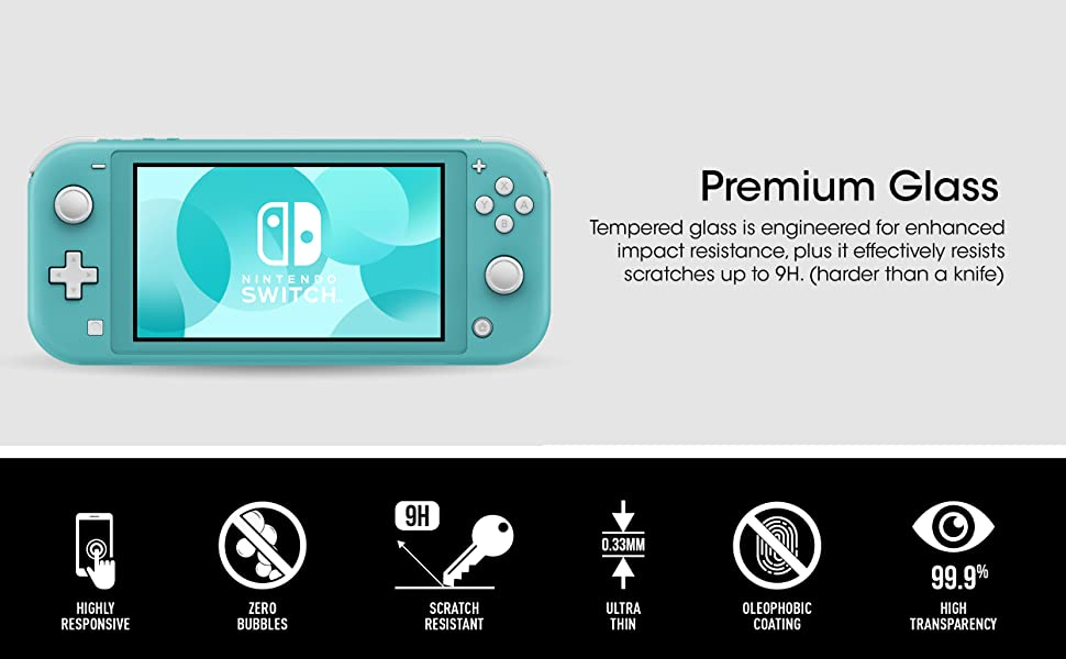 Nintendo Switch Lite Premium Glass