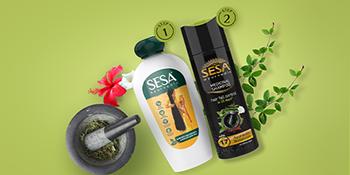 Sesa shampoo, Hairfall control shampoo, Anti hair fall shampoo, Kesh King shampoo, Bhringraj shampoo
