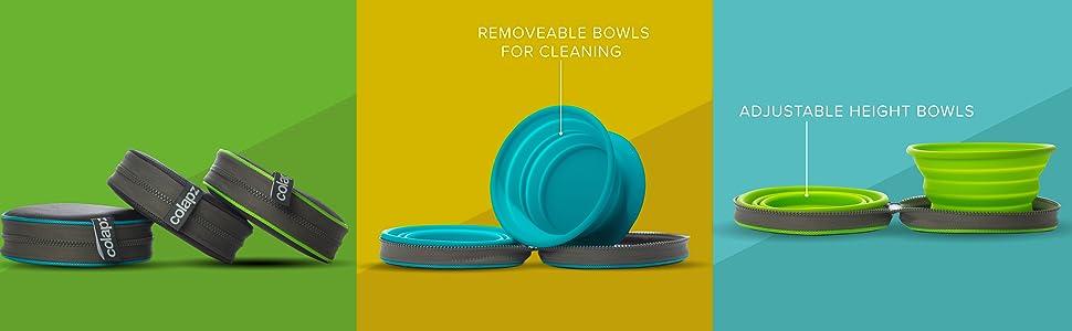 Twin bowls