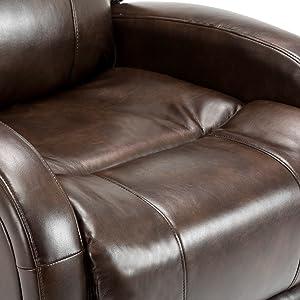 soft reclining chair