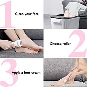 how to use the callus remover